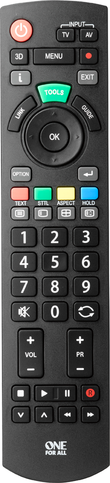 Panasonic TV Replacement Remote | One For All