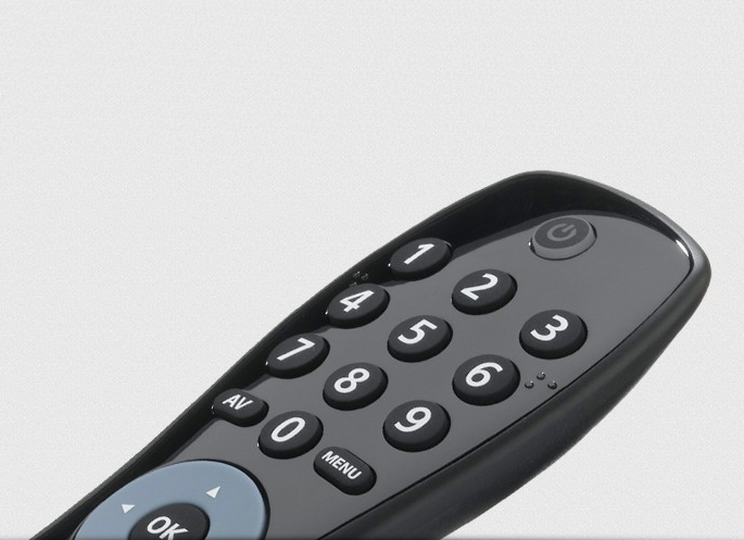 Simple Tv Universal Remote Control By One For All Urc6410