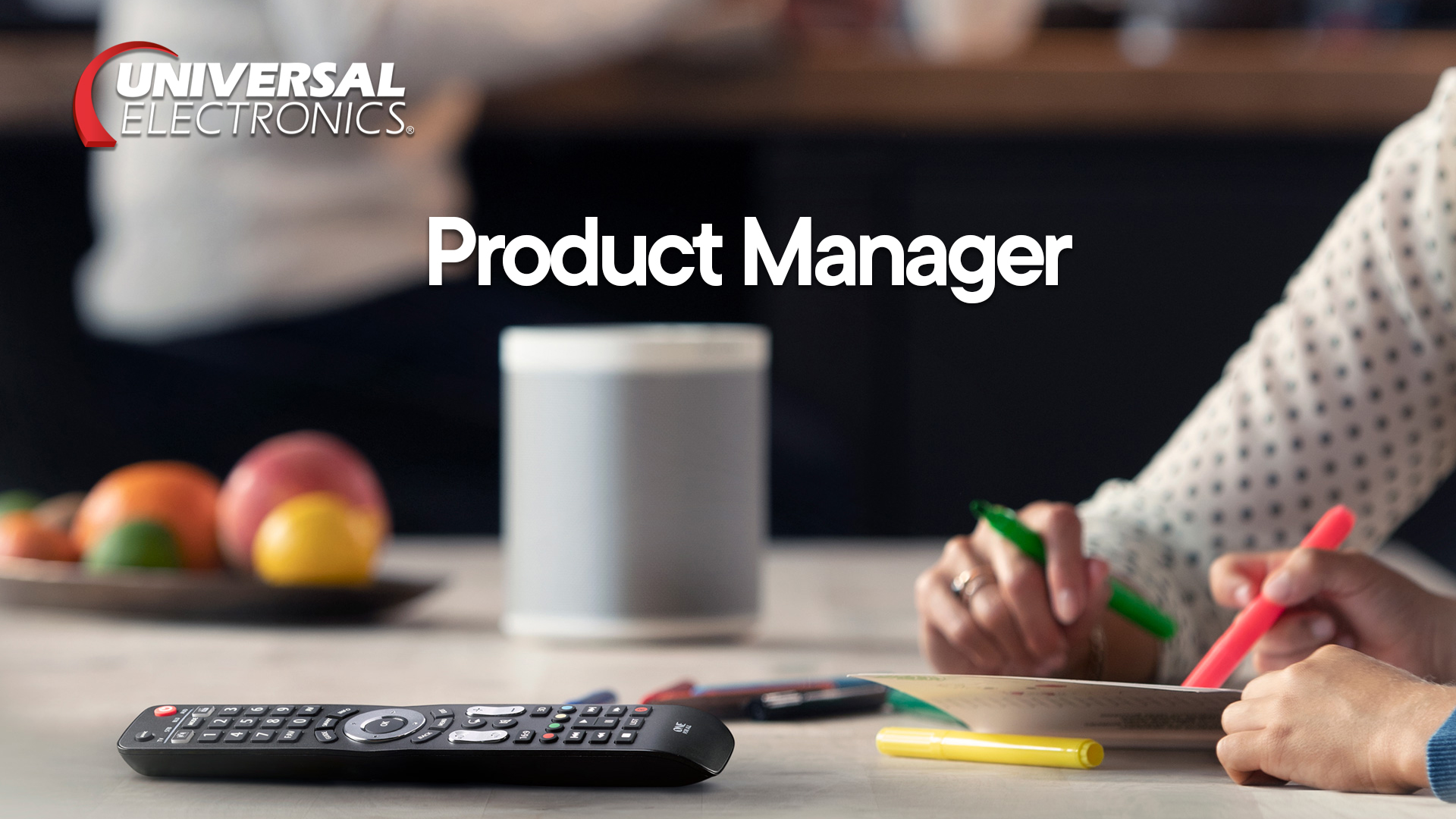 Product Manager 2020
