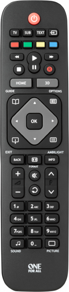 Philips TV Replacement Remote   One For All