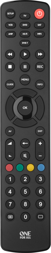 Contour 8 Remote Control by One For All (URC1280)