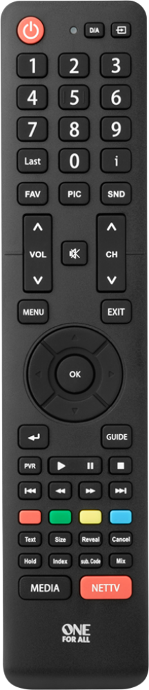Hisense TV Replacement Remote (URC1916)