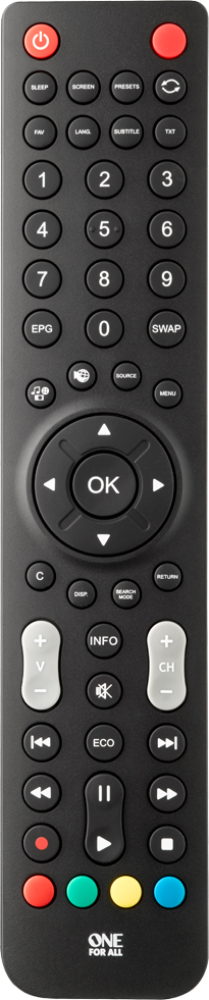 Sharp TV Replacement Remote (URC1921)