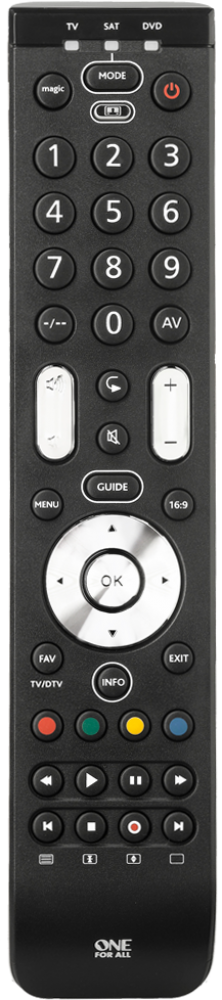 One For All Essence 3 Remote Control (URC7130)