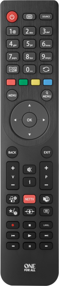 One For All Telefunken TV Replacement remote by One For All